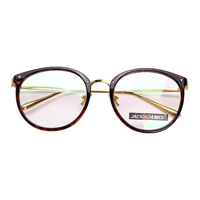 Buy Generic Women Men Glasses Round Full Frame Optical Eyeglass ...