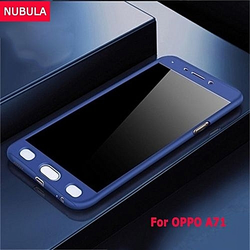 For OPPO A71 360 Degree Real Full Body Ultra-thin Hard Slim PC Protective Case