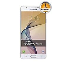 "Galaxy J7 Prime - 5.5"" - 16GB - 3GB RAM - 13MP Camera - 4G LTE - Dual SIM - White Gold"