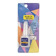 Brush On Nail Glue - clear