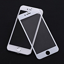 Screen Protector 0.25mm 3D Curved Full Cover Tempered Glass Film For IPhone7 (White)