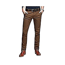 Khaki Trouser Pant - Brown