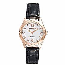 Women's Casual Fashion Quartz Watch(Black)