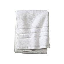New Bath Towel - 100% Premium Cotton - White