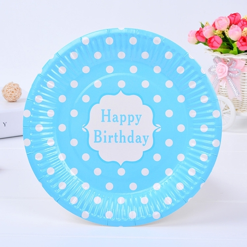 6pcs/Set 18cm Candy Color Festival Disposable Round Plate For Parties Birthday Paper Plates Wedding  sc 1 st  Jumia Kenya & Buy Liplasting 6pcs/Set 18cm Candy Color Festival Disposable Round ...