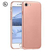 Close Skin Design Solid Color PC Protective Skin For IPhone 7 - Rose Gold
