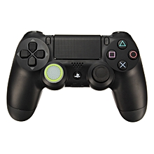 Rubber Silicone Thumbstick Joystick Cap Thumb Stick Cover Grips For PlayStation 4 PS4 Wireless Controller White+Green