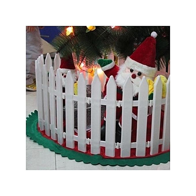 Universal Christmas Decorations 20 30cm White Plastic Christmas
