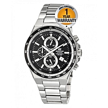 Silver Stainless Steel Wrist Watch