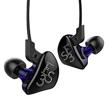 New KZ ES3 1DD+1BA Hybrid In Ear Earphone HIFI DJ Monito Running Sport Earphones Earplug Headset Earbud KZ ZST KZ ZS5 KZ ZS6 - Without Mic