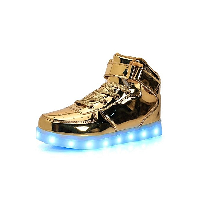 Buy Generic Gold LED Sneakers   Best Price  8752b855288f
