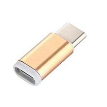 Fovibery Micro USB Female To USB 3.1 Type-c Male Data Adapter For Oneplus 3 GD