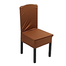 Elastic Chair Covers Home Seat Slipcover Decoration #Light Coffee