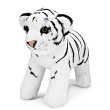 14*13*3CM tiger soft doll toy simulation tiger plush toy
