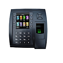 S900 - Time and Attendance biometric - 3.5 inch TFT colour screen- 8000 fingerprint template- Black