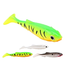 SeaKnight SL001 4PCS 6g 90mm Soft Fishing Lure Artificial Plastic 3 Colors Swim Fishing Bait