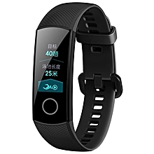 Honor Band 4 Standard Version Smart Bracelet, 0.95 inch OLED Color Screen, 5ATM Waterproof, Support Heart Rate Monitor / Sleep Monitor / Message Reminder - Black