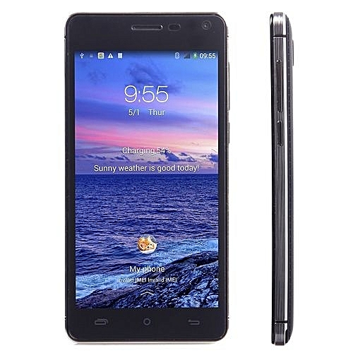 Cubot S200 5 Inch IPS Screen Android 4.4 MTK6582 1.3GHz Quad-core Smartphone Black