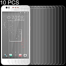 10 PCS 0.26mm 9H 2.5D Tempered Glass Film for HTC Desire 825