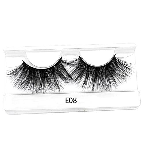 b860b31bea6 Generic 25mm Long 3D mink lashes extra length mink eyelashes Big dramatic  25mm Mink Lashes 100% Cruelty free Handmade fake lashes(E08)