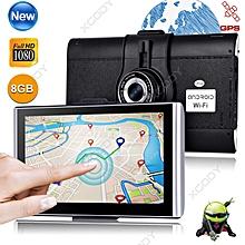 "XGODY New 7"" HD 1080P Vehicle Car Dash DVR Video Recorder Camera GPS Navigation"