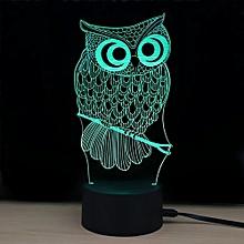 TD182 Creative Animal 4D LED Lamp - Colorful