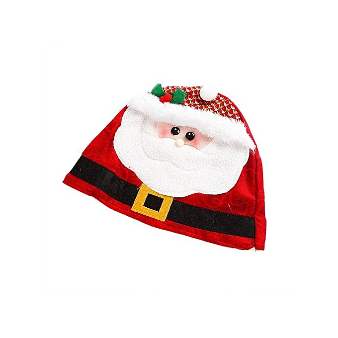 216cc9721f43c Merry Christmas Party Santa Claus Hats Xmas Cap Shinning Paillette RD
