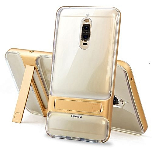 Buy Mooncase Mate 9 Pro ,MOONCASE Transparent Dual Layer Hybrid Anti ...