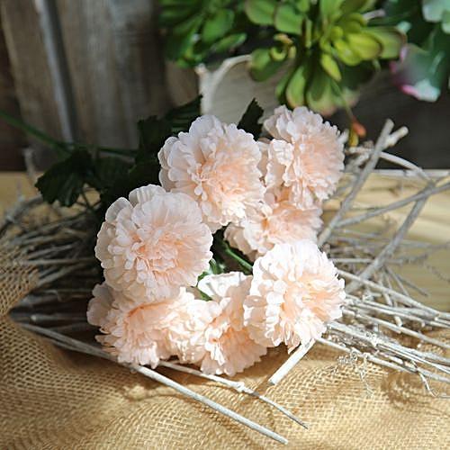 Fashion Artificial Silk Fake Flowers Daisy Lotus Wedding Bouquet