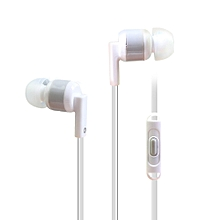 In-Ear 3.5mm Super Bass Earphone Earbuds Headset HeadPhone For iPhone-White