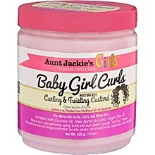 Girls Baby Girl Curls Curling & Twisting Custard 426g