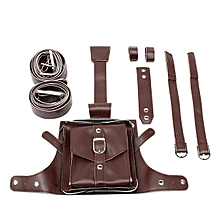 PUBG Tactical Waist Pack Drop Leg Bag Belt Military Outdoor Riding Cosplay Props