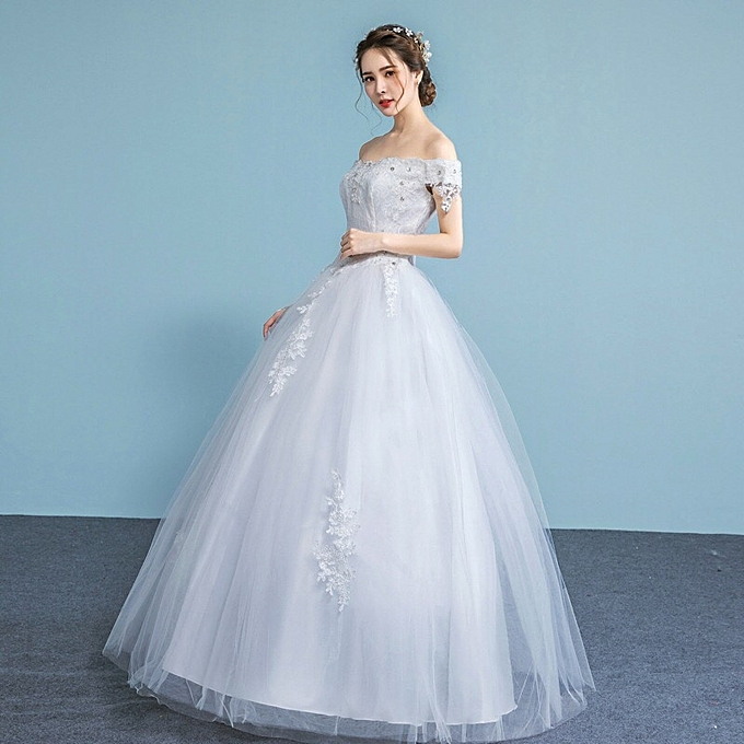 Light Wedding Dresses For Abroad: Fashion Women's Wedding Dress @ Best Price Online
