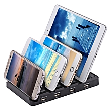 Creative Multifunctional 48W 4-port USB 9.6A Output Charging Stand Station
