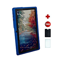 Q75S Tablet - 7 inch, 8GB, 512MB RAM, WiFi, Blue + free screen protector+ pounch