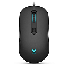 V22 3000DPI 7 Buttons Programmable Optical Gaming Mouse Backlight USB Wired Mouse HT