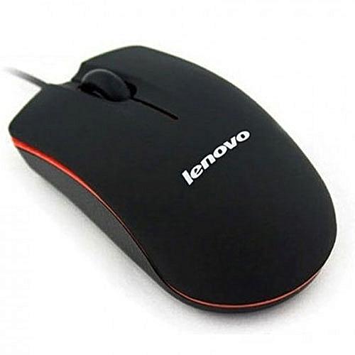 M20 Wired Mouse- Deep black orange