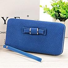 Phone Wallet Purse - Blue
