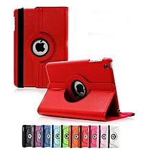 IPad Pro 9.7 Rotational Cover Ultra Slim Smart Cover PU Leather Case for Apple / Free Stylus Pen Mll-S