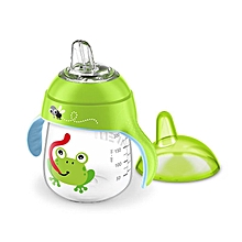PHILIPS AVENT 260ml Baby Soft Spout Cup Water Drinking BPA Free Feeding Bottle For 12m+ Green