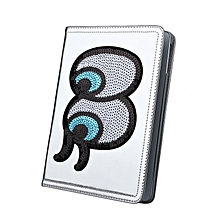Luxury Leather Smart Case Shell Protection Cover for iPad5/Air1 Air2/6 Mini 4 silver