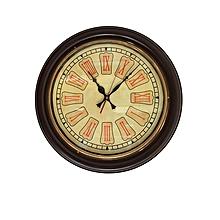 Roman Antique clock - Brown