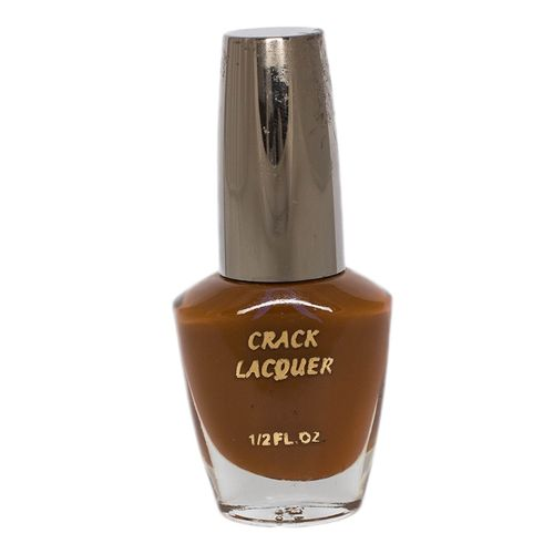 Crackle Nail Polish Brown
