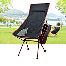 IPRee® Portable Folding Chair Camping With Pillow Ultralight For Fishing Picnic Max Load 120 kg