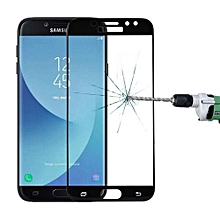 For Samsung Galaxy J7 Pro 0.3mm 9H Surface Hardness 3D Curved Silk-screen Full