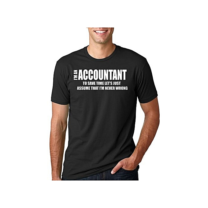 5aa9c2613 Fashion Accountant T-Shirt Funny CPA T-Shirt Gift For Accountant Tee ...