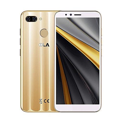 "5.7"" - 4GB - 64GB - 4G - Dual SIM  - Dual Camera 13 + 2 MP - Gold"