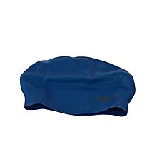 Swim Cap Moulded Silicone Snr- R.Blue-
