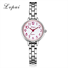 Women Watches quartz casual dress watch Pink Dial
