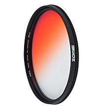 Zomei 49/52/58/67/72/77mm Practical Graduated Changing Camera Round Filter
